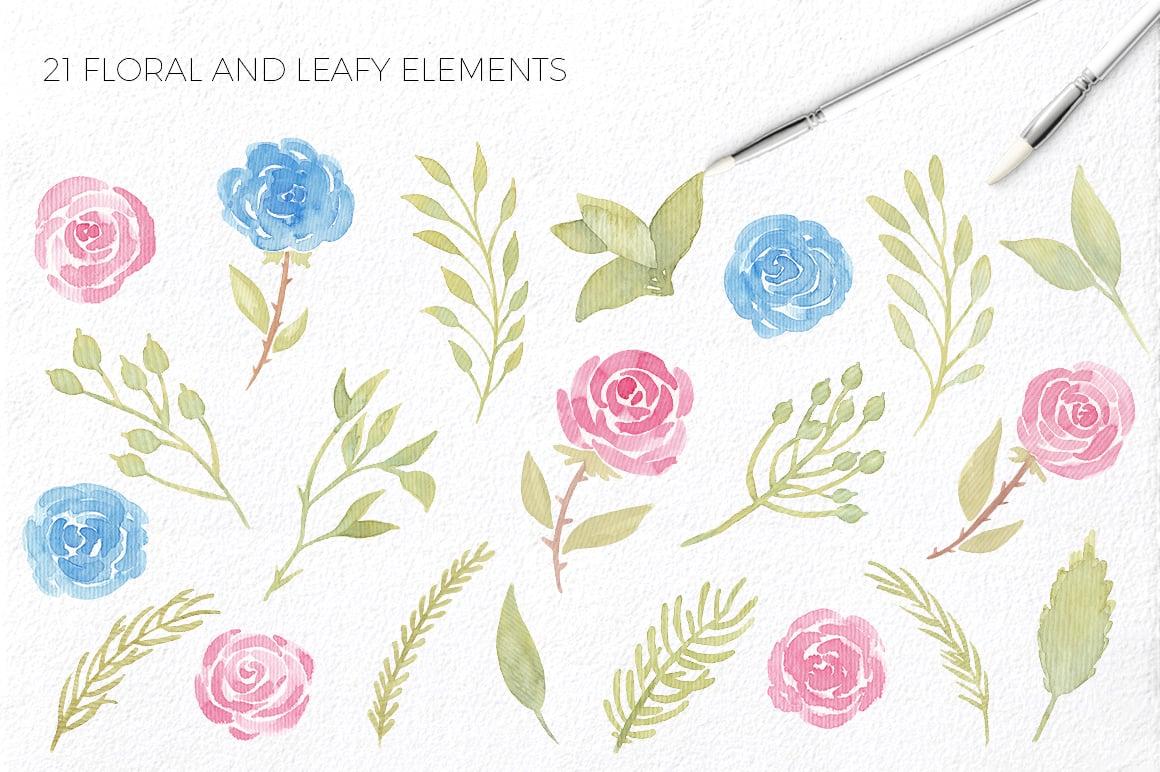 Love Story: Valentine Watercolor Kit - $9 - lovestory 3