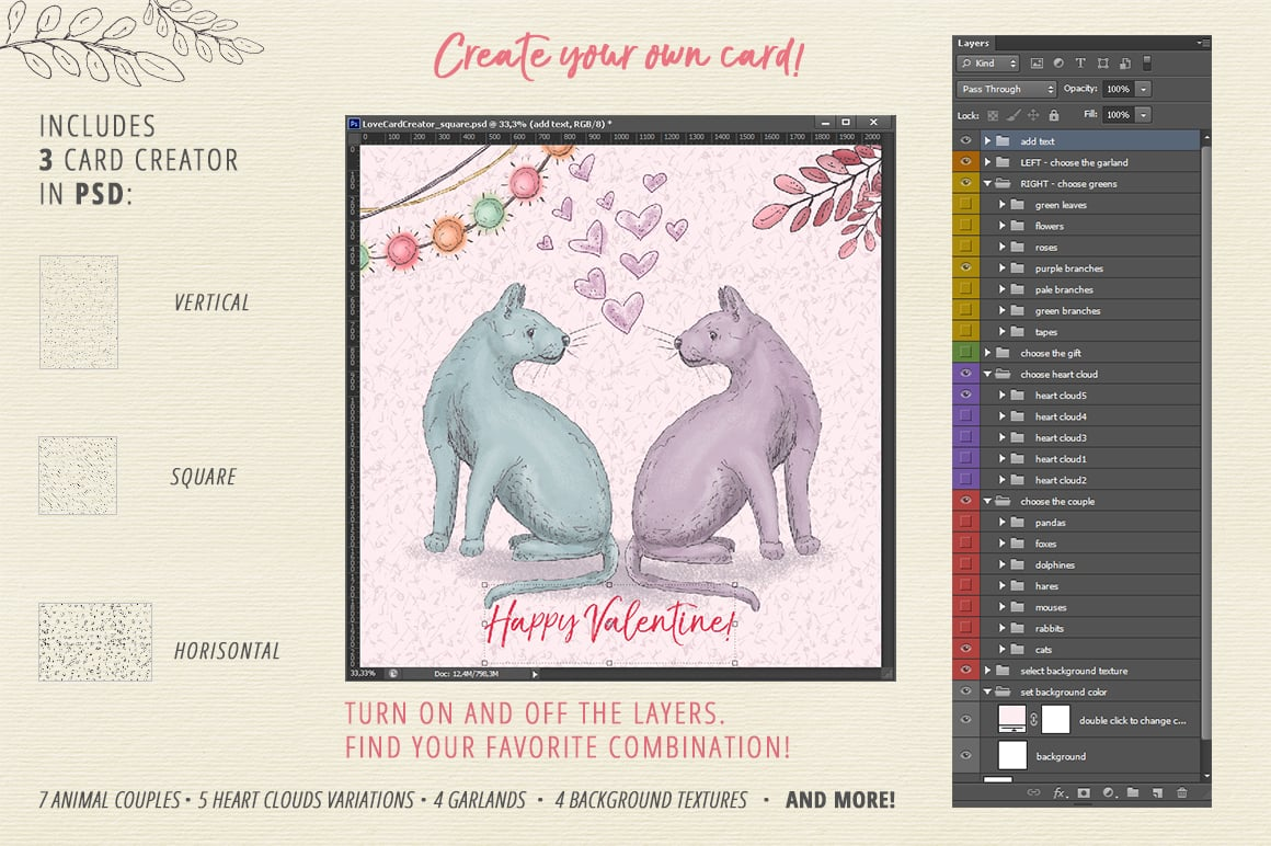 Gentle Love: Card Creator - presentation2