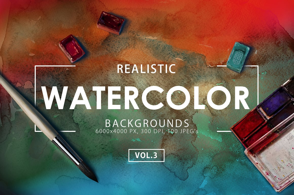 540+ Watercolor Backgrounds Bundle - 544 Items. Only $18! - watercolor backgrounds 3 prev1 o