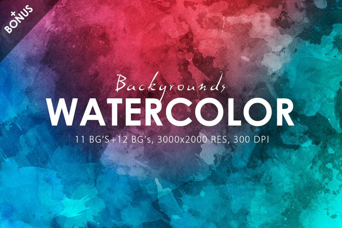 540+ Watercolor Backgrounds Bundle - 544 Items. Only $18! - watercolor backgrounds prev 1 o1