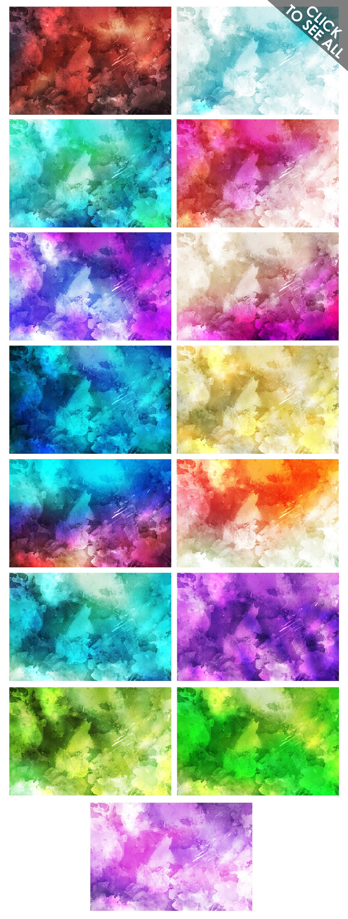 540+ Watercolor Backgrounds Bundle - 544 Items. Only $18! - watercolor backgrounds prev 2