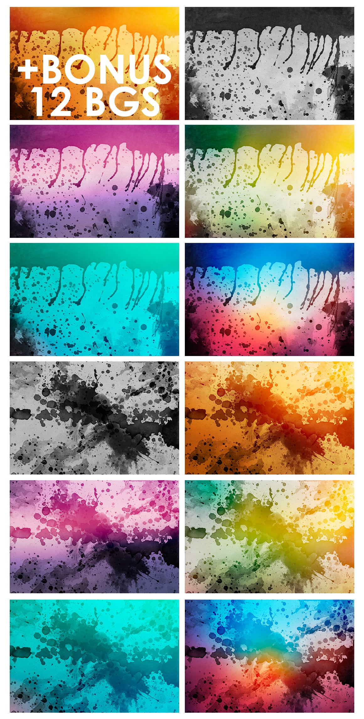 540+ Watercolor Backgrounds Bundle - 544 Items. Only $18! - watercolor backgrounds prev 3 o