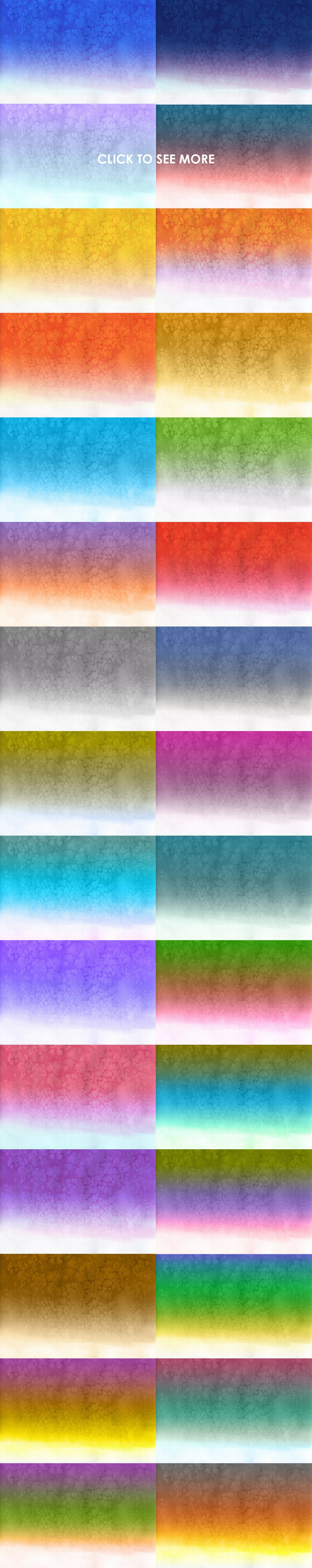 540+ Watercolor Backgrounds Bundle - 544 Items. Only $18! - watercolor gradient backgrounds prev3 o