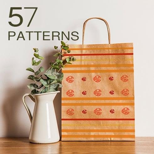 57 Unique Patterns Bundle - 57patterns Main Image