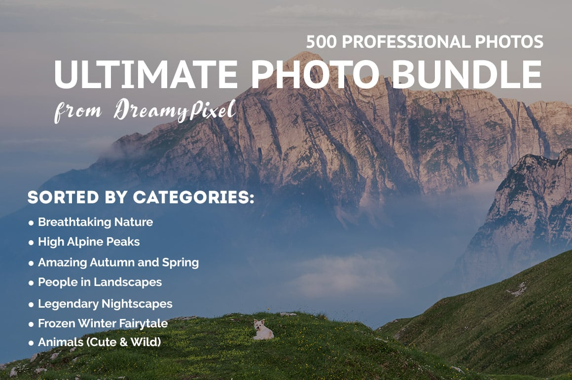 500+ Stock Images. Ultimate Photo Bundle  – $59 - FEATURED image preview
