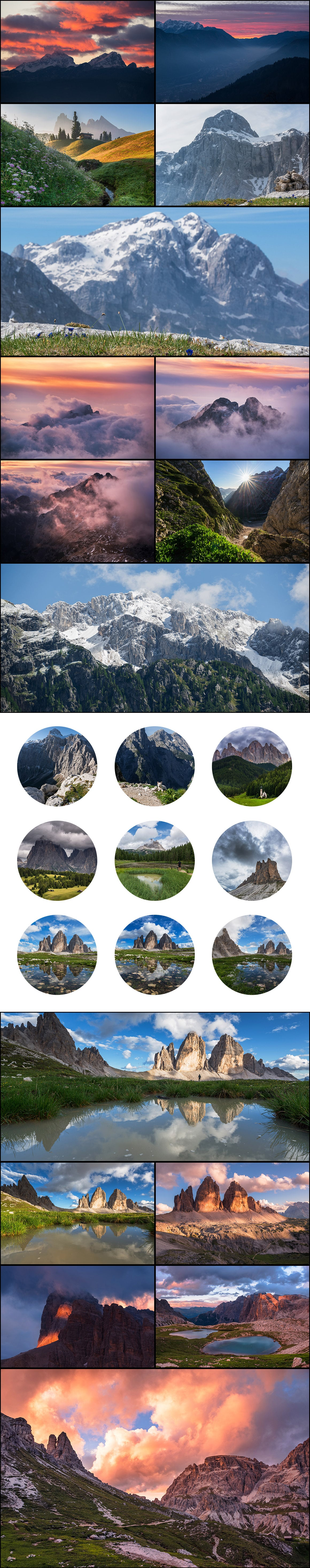 500+ Stock Images. Ultimate Photo Bundle  – $59 - PREVIEW mountains1