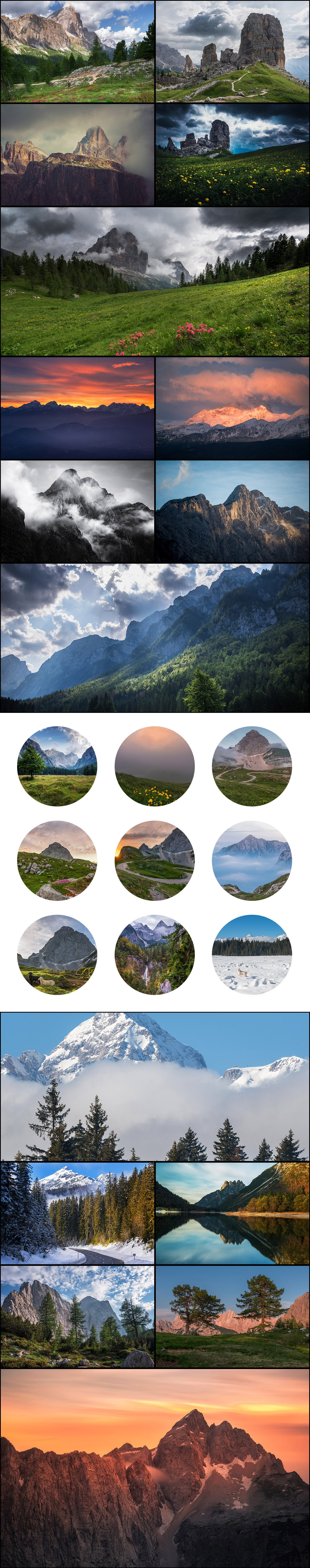 500+ Stock Images. Ultimate Photo Bundle  – $59 - PREVIEW mountains3