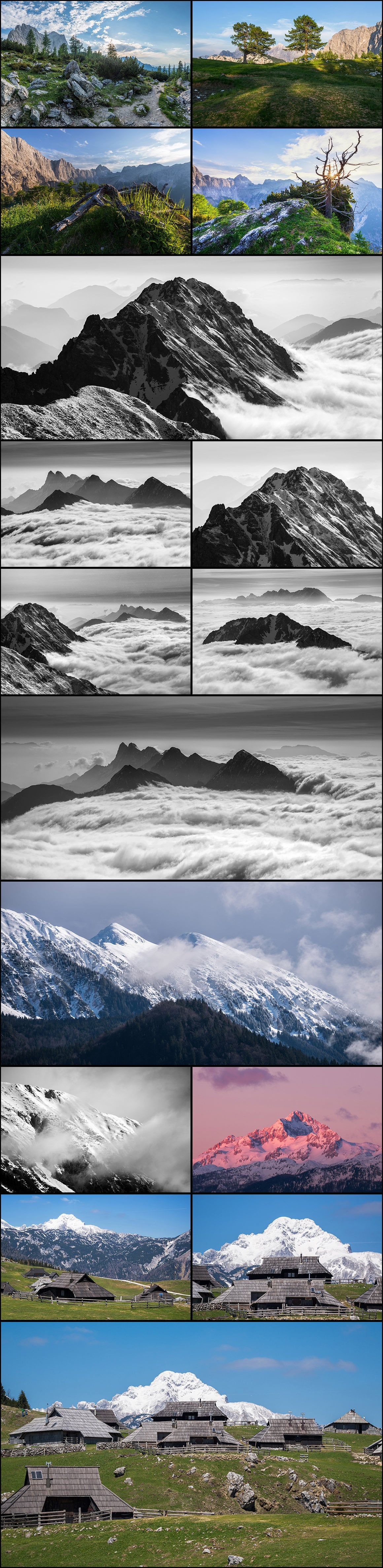 500+ Stock Images. Ultimate Photo Bundle  – $59 - PREVIEW mountains4
