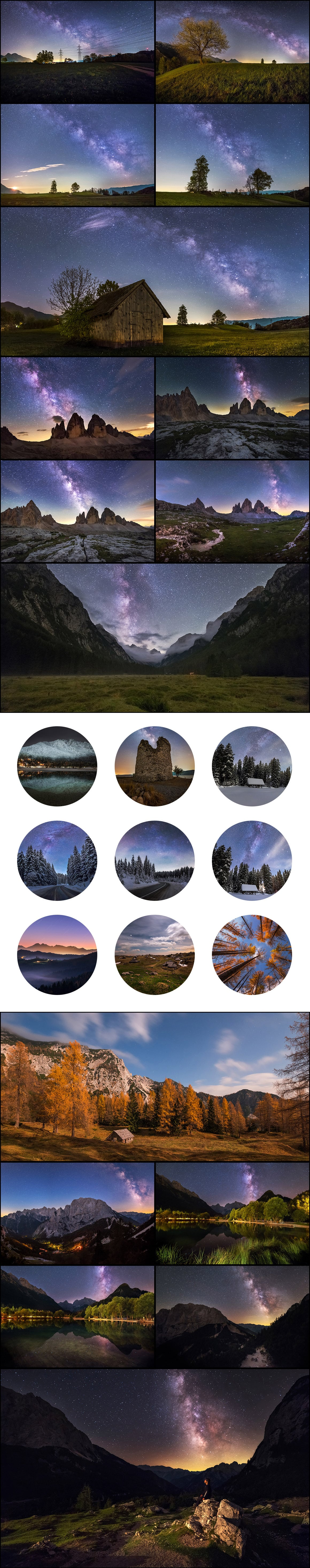 500+ Stock Images. Ultimate Photo Bundle  – $59 - PREVIEW nightscapes