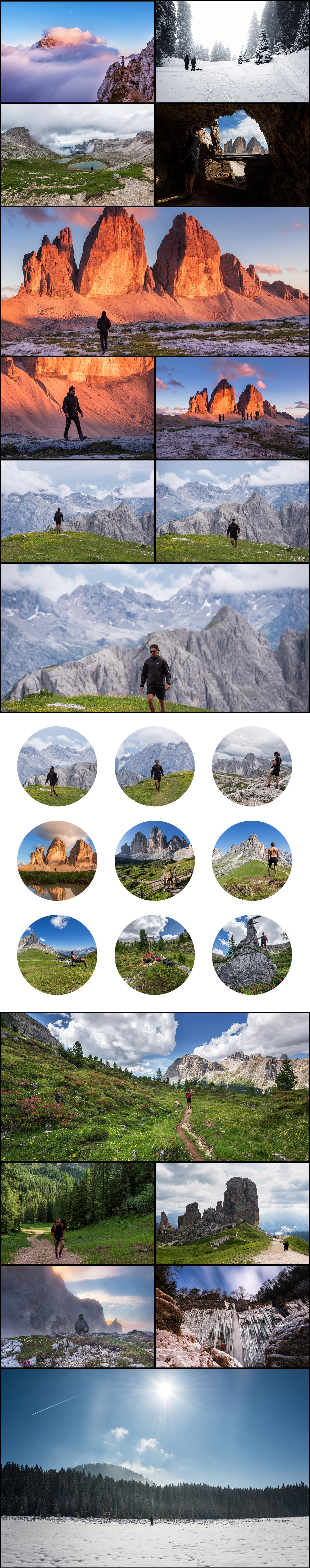 500+ Stock Images. Ultimate Photo Bundle  – $59 - PREVIEW people landscapes1