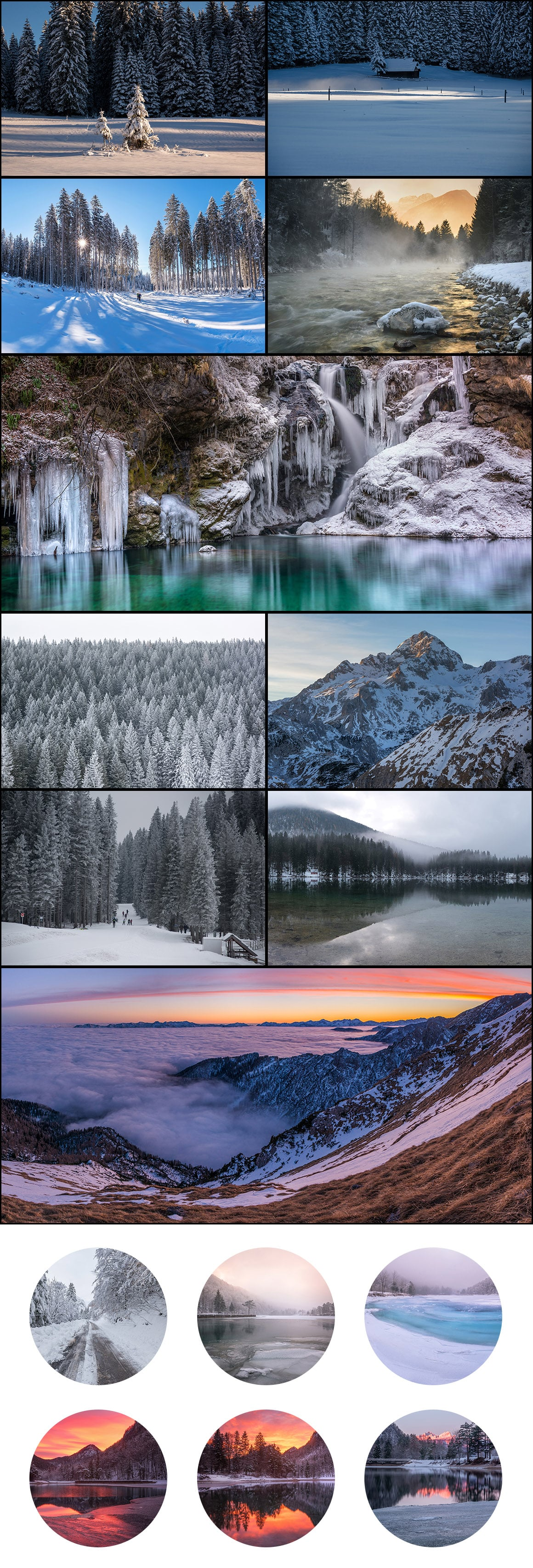 500+ Stock Images. Ultimate Photo Bundle  – $59 - PREVIEW winter3