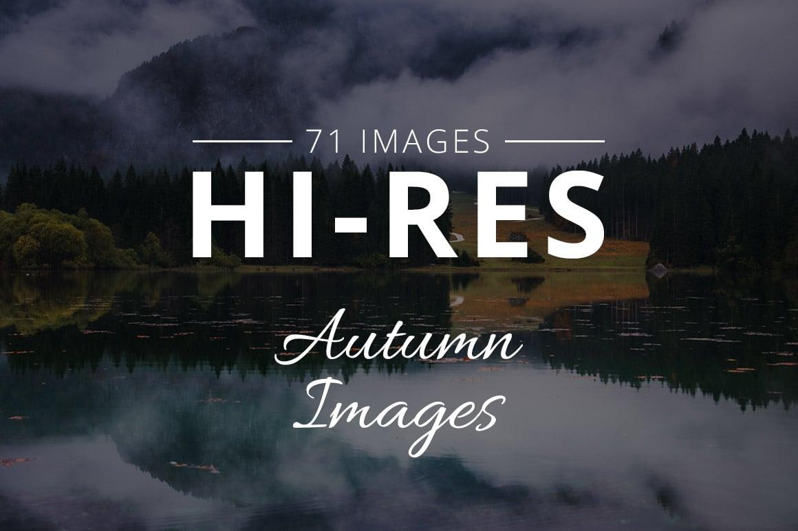 500+ Stock Images. Ultimate Photo Bundle  – $59 - THUMB autumn
