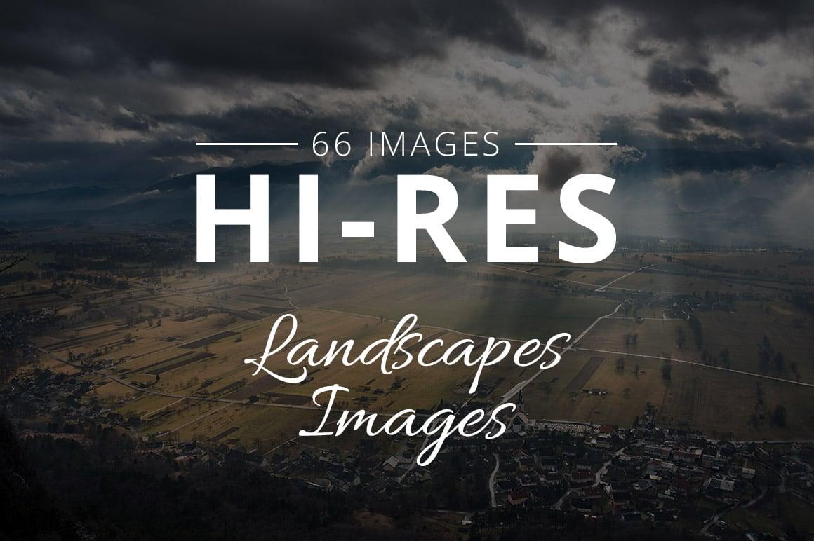 500+ Stock Images. Ultimate Photo Bundle  – $59 - THUMB landscapes