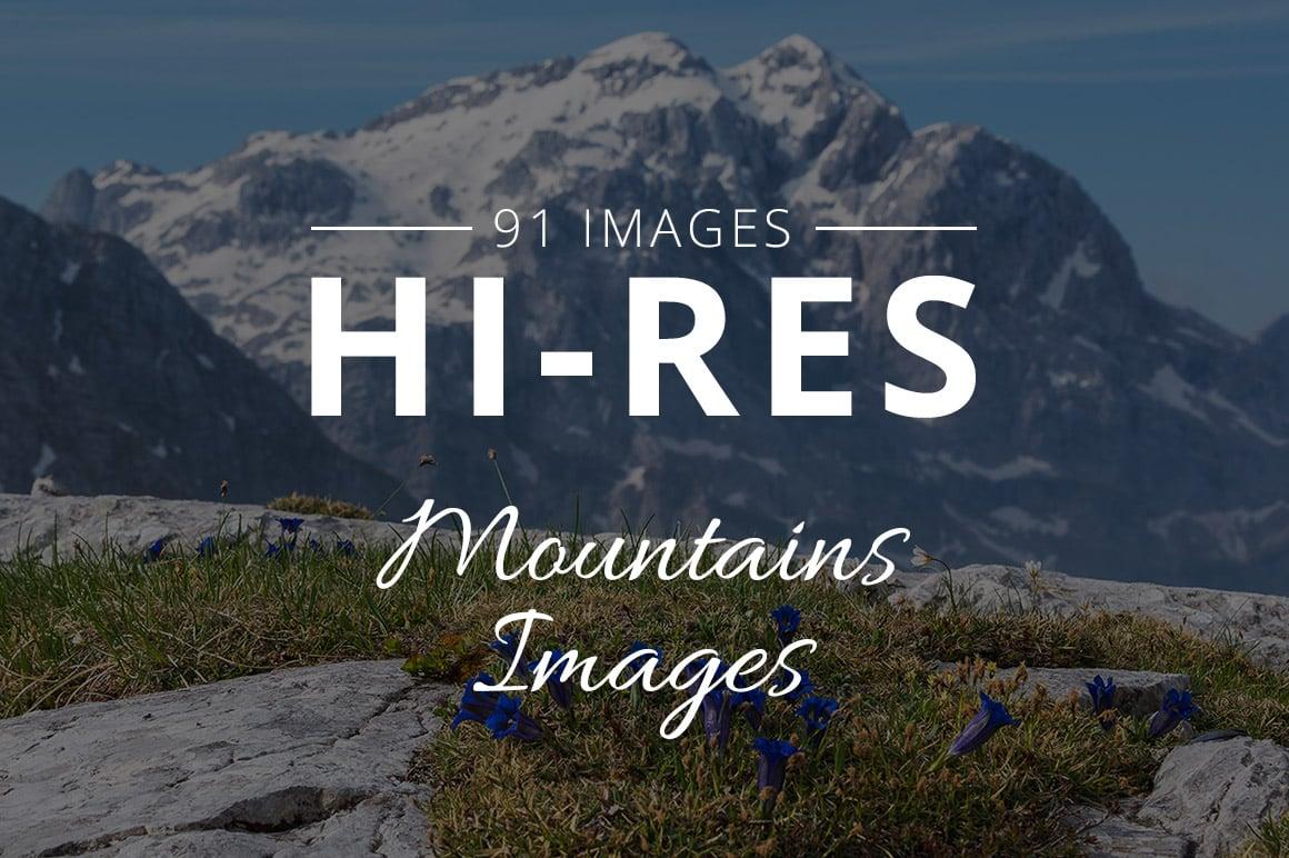 500+ Stock Images. Ultimate Photo Bundle  – $59 - THUMB mountains