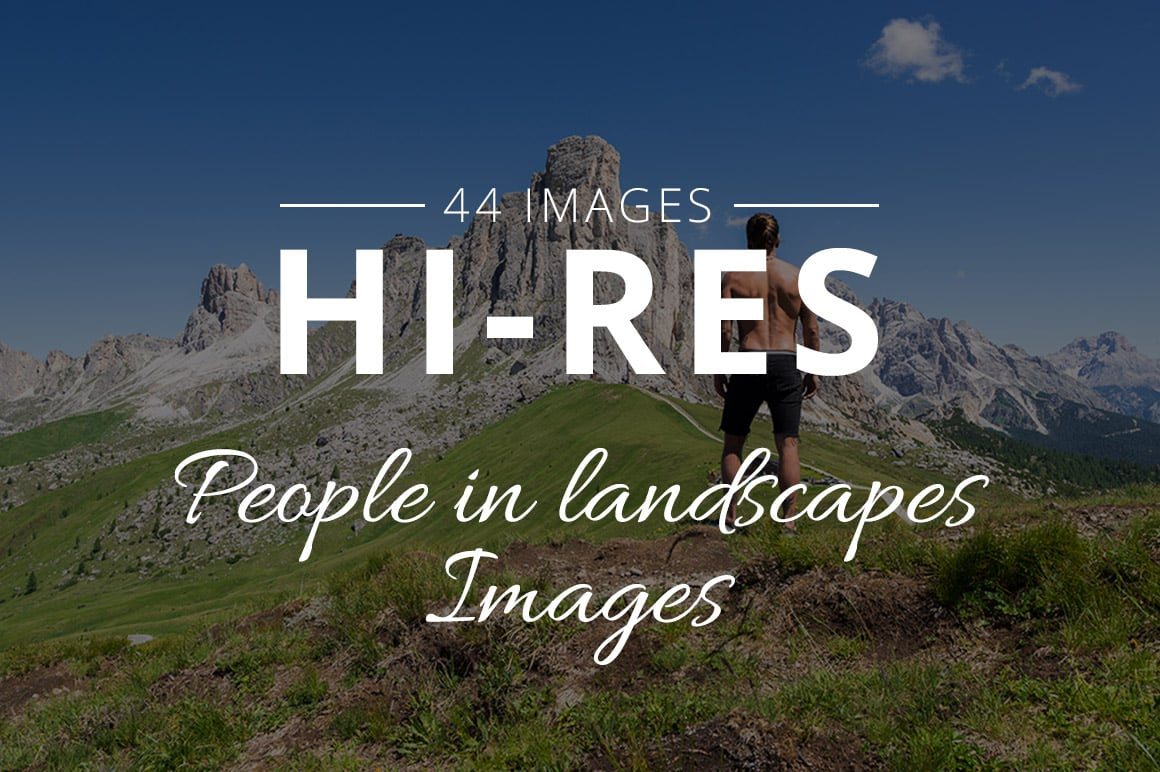500+ Stock Images. Ultimate Photo Bundle  – $59 - THUMB ppl in land