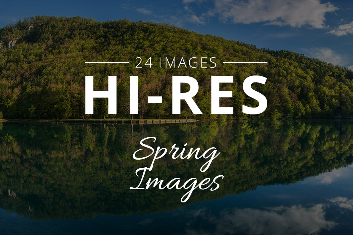 500+ Stock Images. Ultimate Photo Bundle  – $59 - THUMB spring