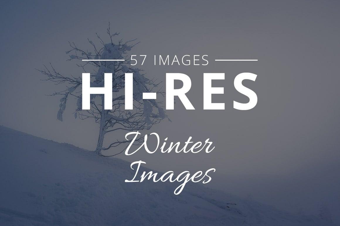 500+ Stock Images. Ultimate Photo Bundle  – $59 - THUMB winter