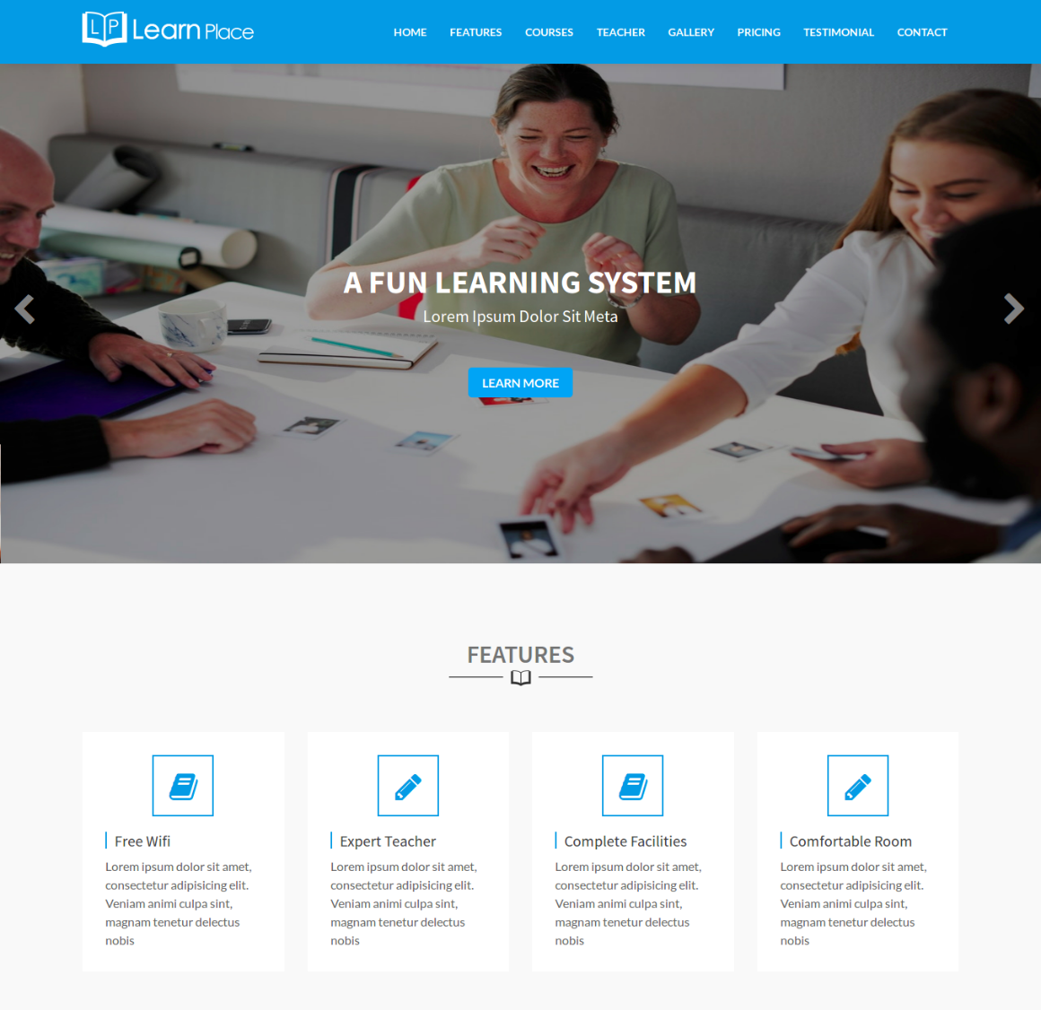 20 Premium HTML Template - education