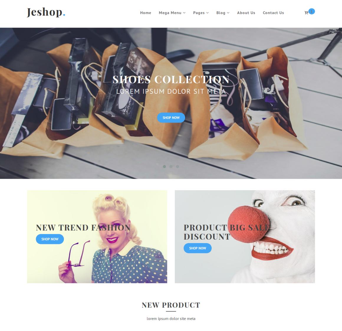 20 Premium HTML Template - jshop