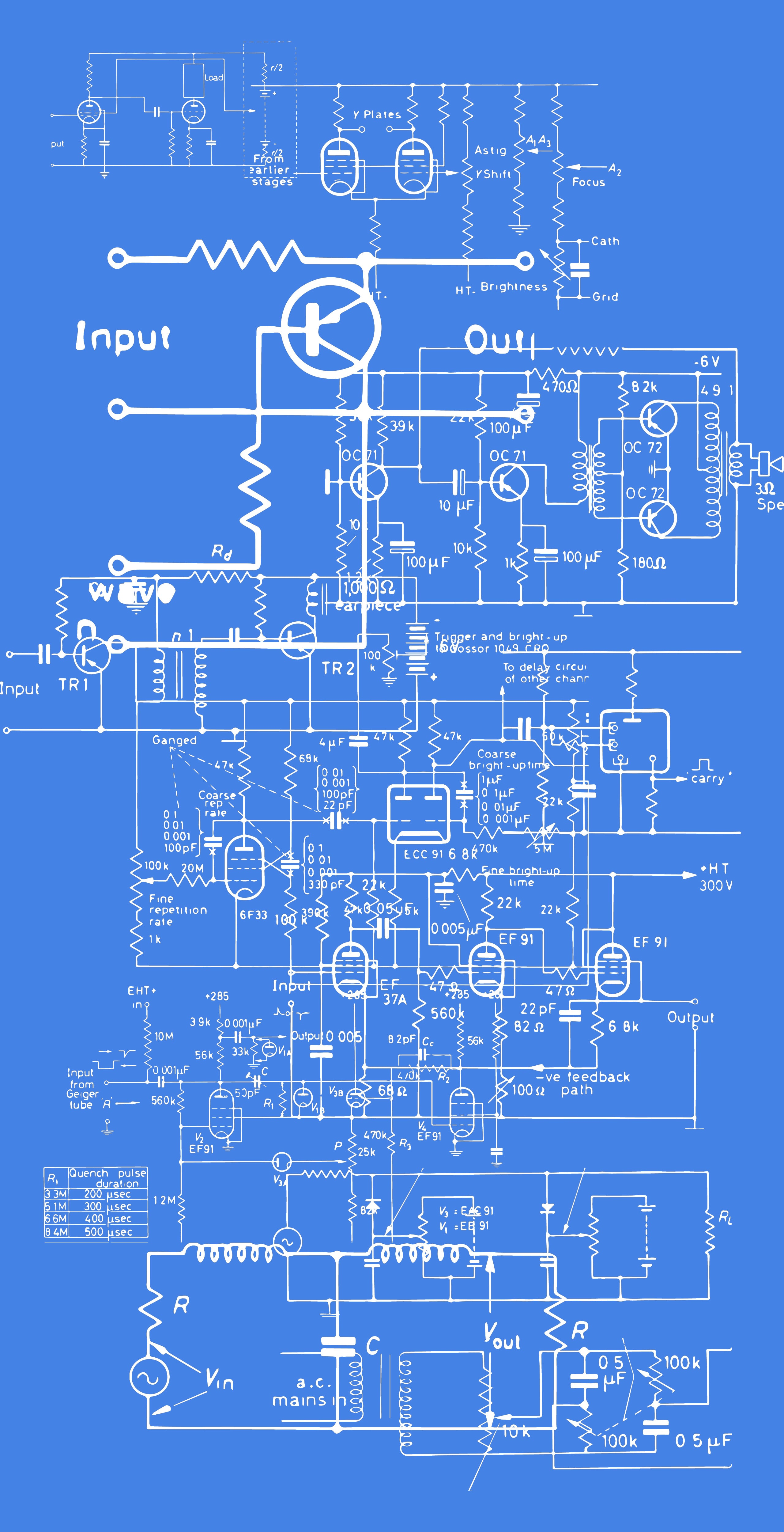 Vintage Electrical Circuits Illustrations [40 Itens] - large 2 2
