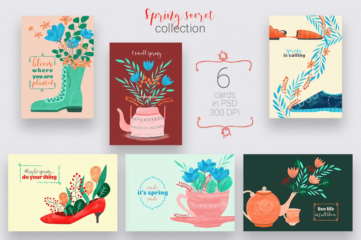 Spring PNG: Collection of 42 elements in PNG - presentation8