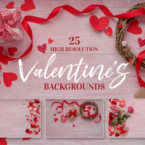 Valentines Day love celebration JPG set - promo 1 490x490