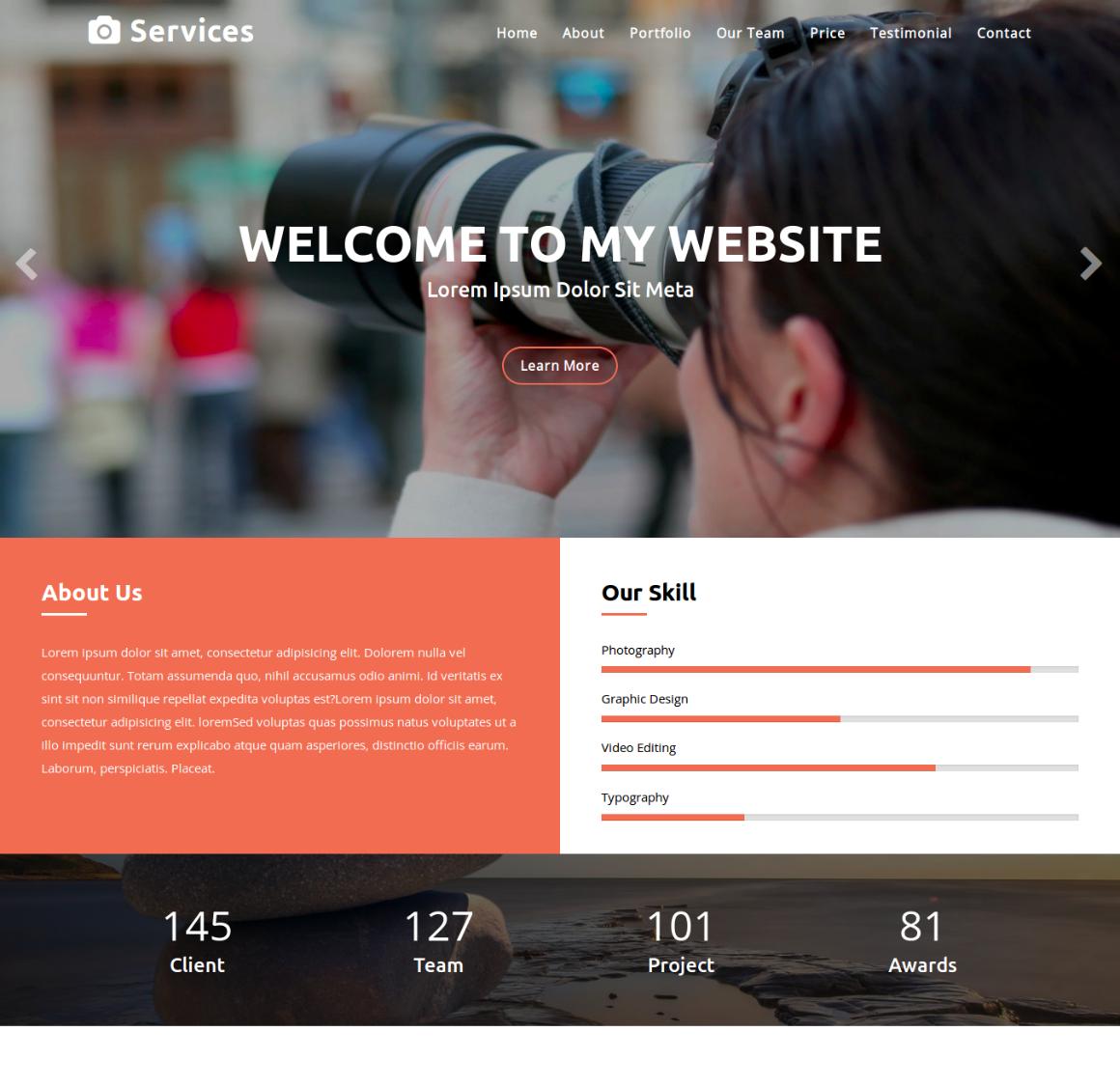 20 Premium HTML Template - start up