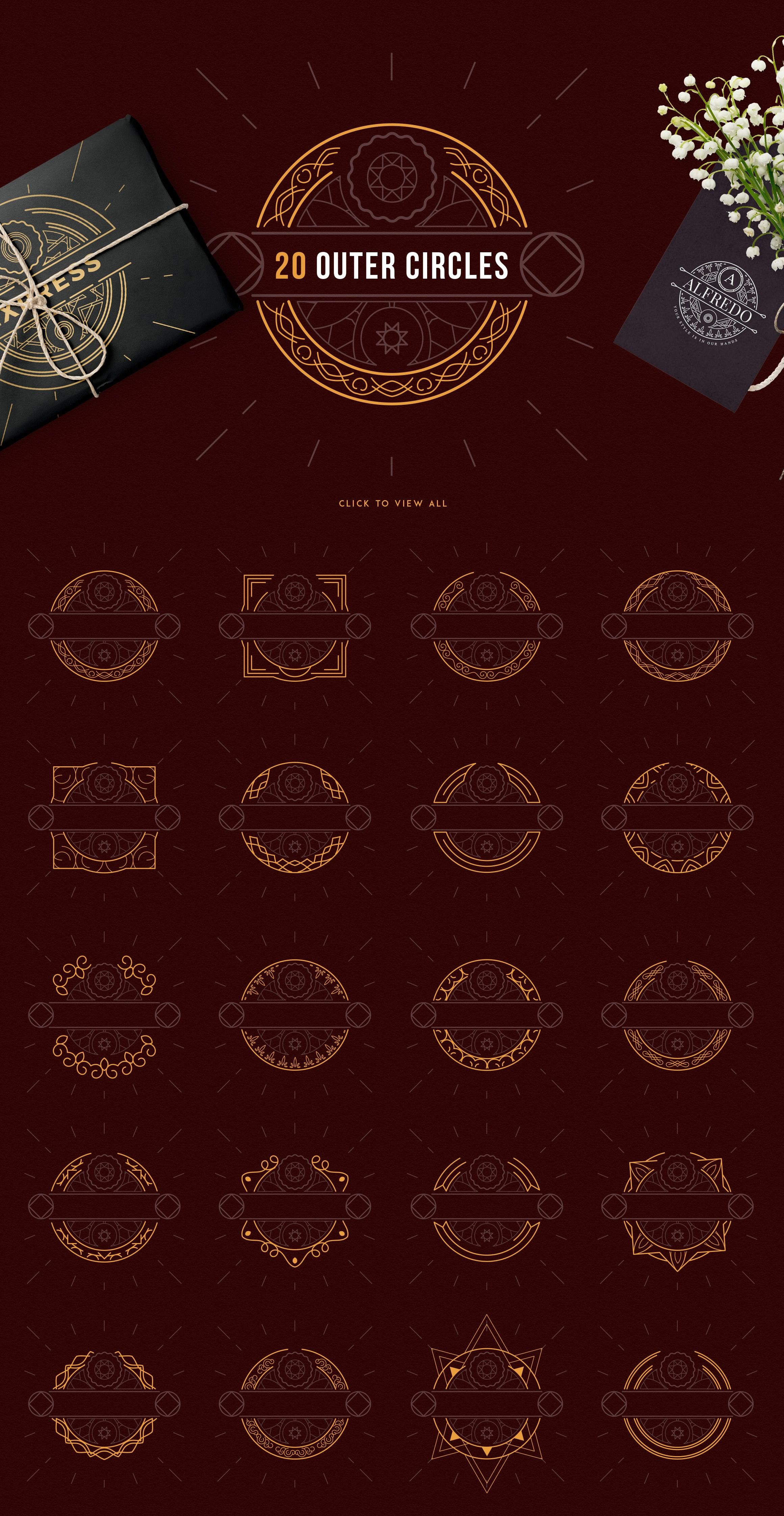 Emblem Creator Bundle - All in One File - 04