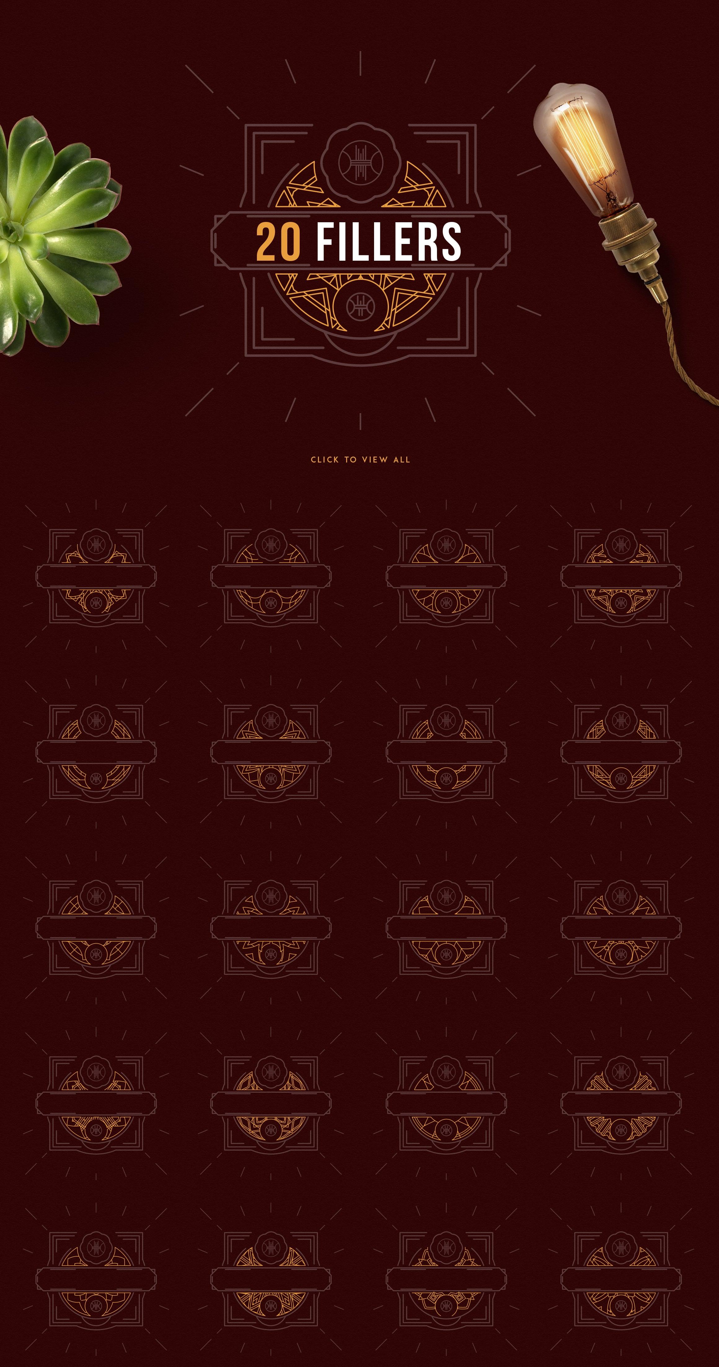 Emblem Creator Bundle - All in One File - 05