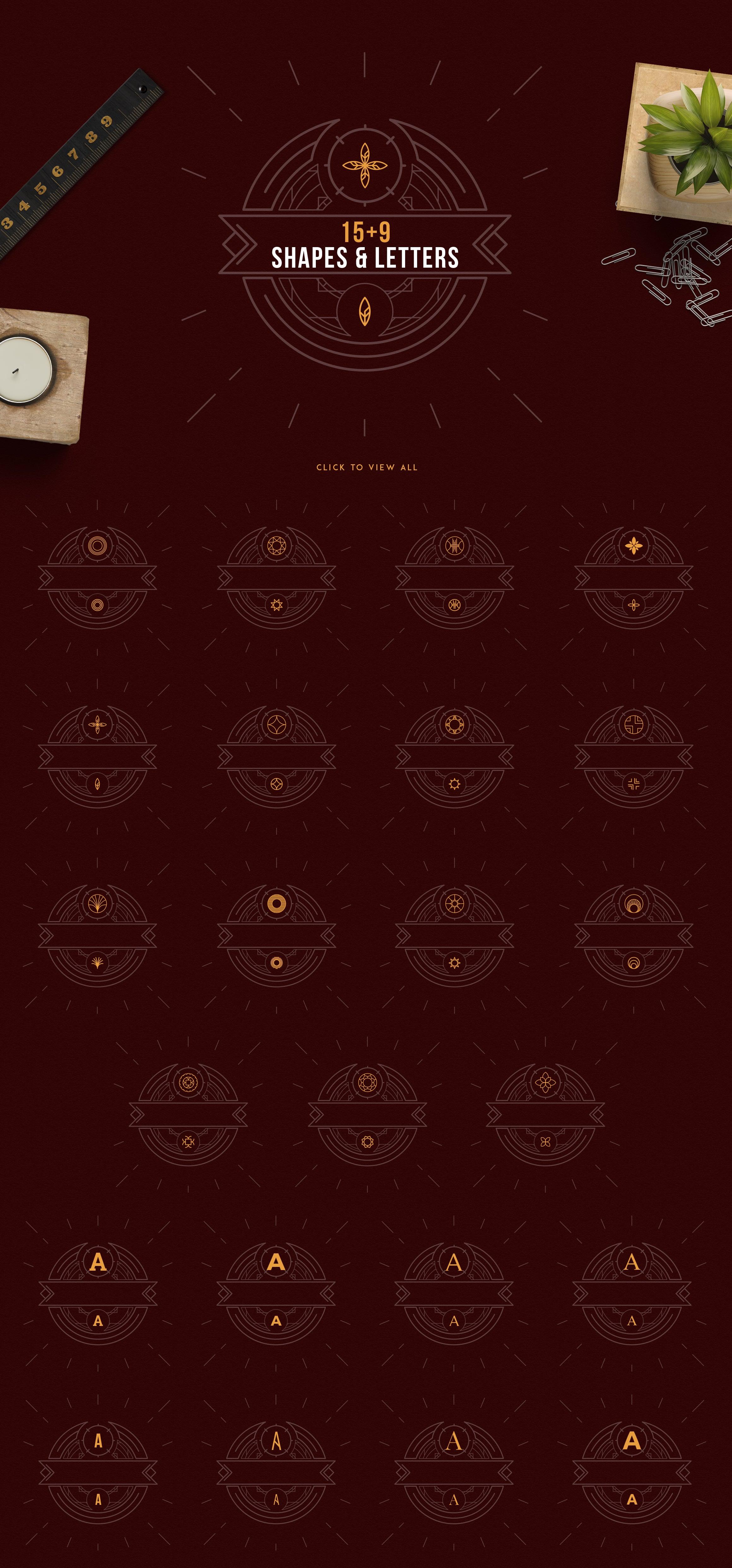 Emblem Creator Bundle - All in One File - 07