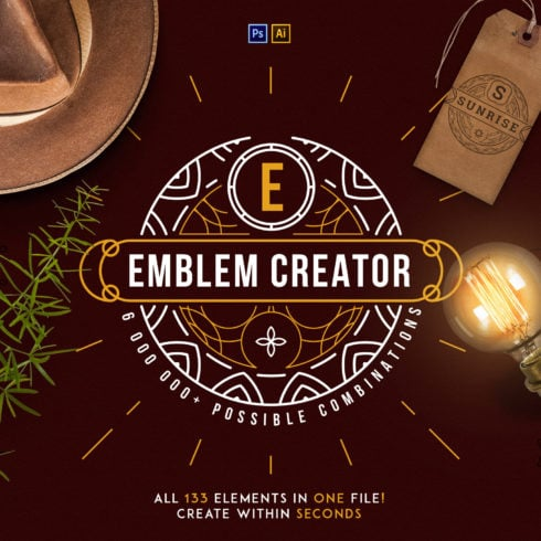Emblem Creator Bundle