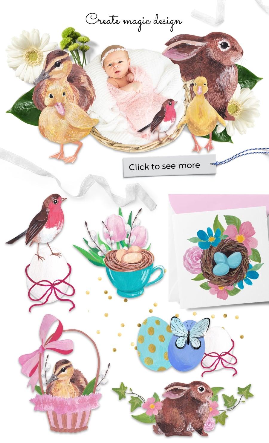 220 Best Easter Graphics in 2020: Free & Premium - cuties prev23