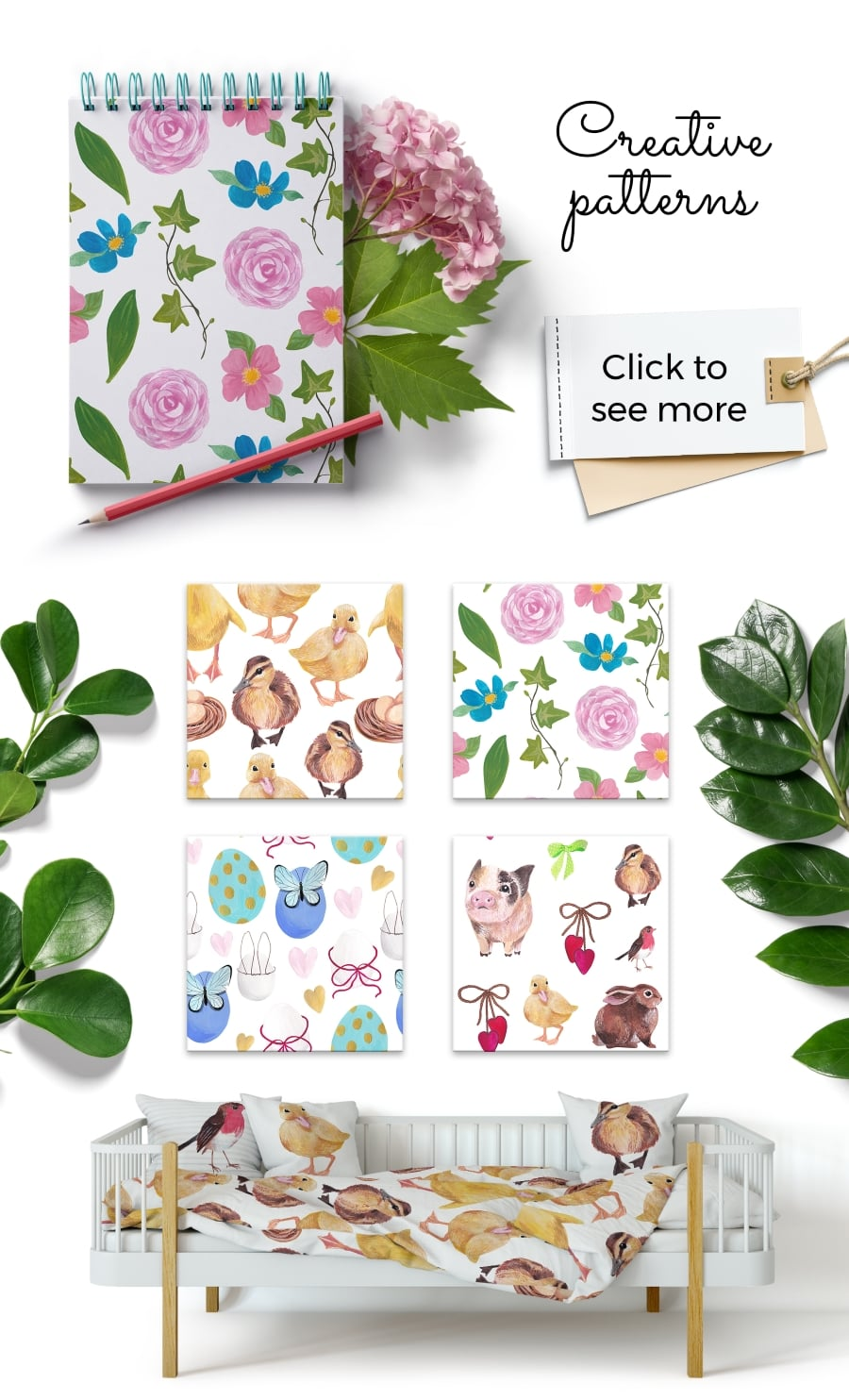200+ Premium Easter Background in 2020: Free Vectors, Photos PSD files and Elements in Web Design - cuties prev4