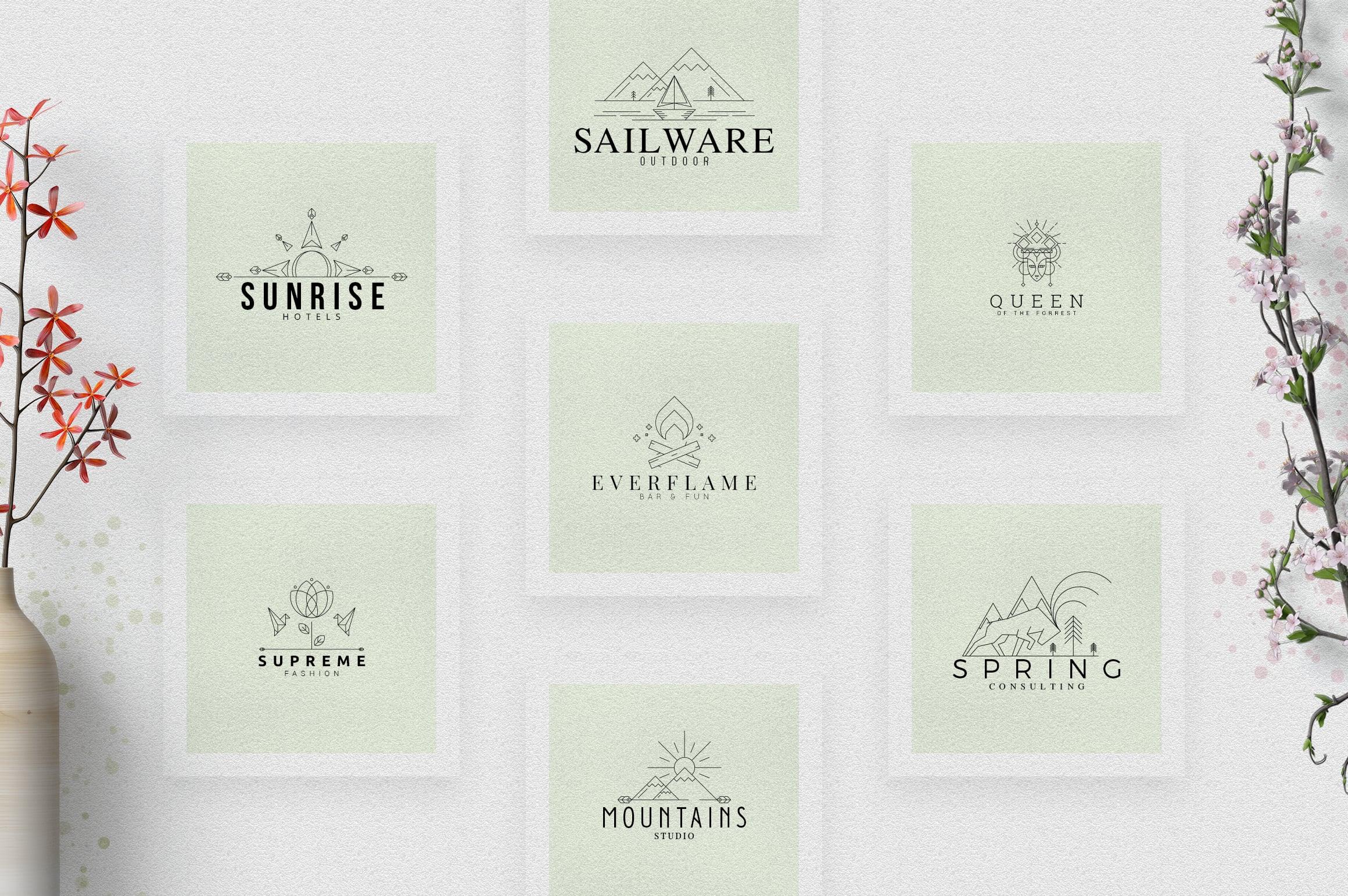 40 Boutique Logos