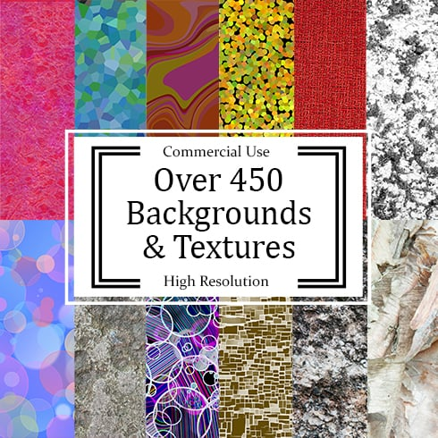 450 Textures in 23 Different Categories - MB Backgrounds 1