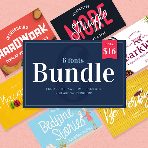 Author - The Font Bundle