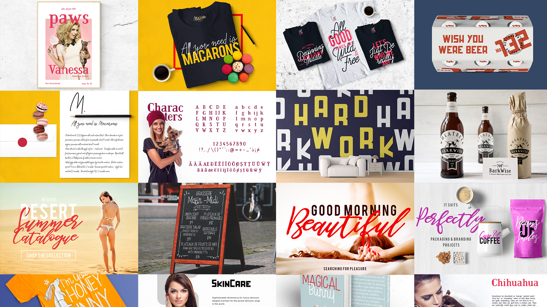 Dope Fonts - 6 Awesome Fonts in a Bundle Deal - The Font Bundle3