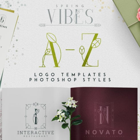 Spring Vibes: A-Z Logo Designs - Untitled 3 490x490