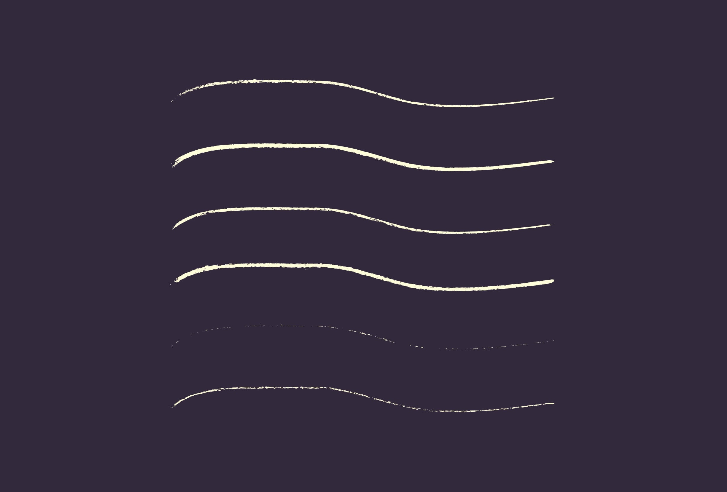 30 Best Line Art Illustrator Brushes (Wax Crayons) - brushes presentation 1 0
