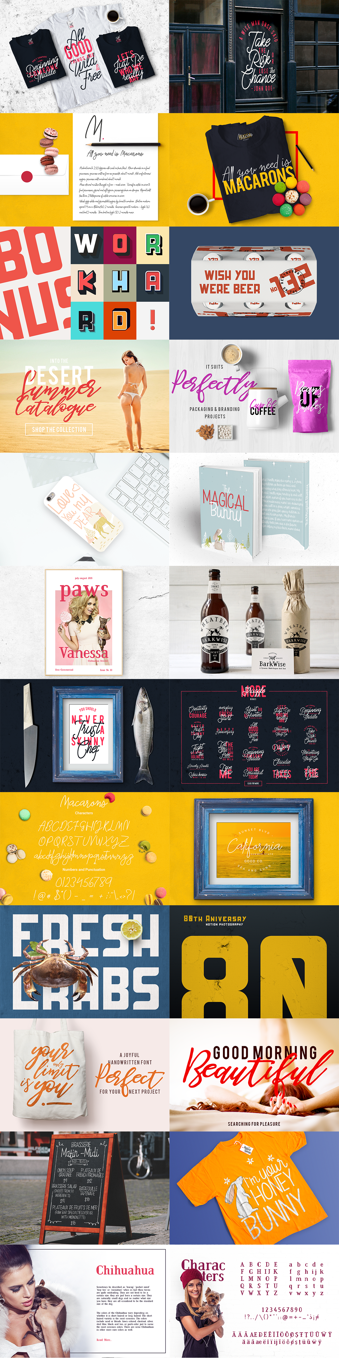 Dope Fonts - 6 Awesome Fonts in a Bundle Deal - fullpreview