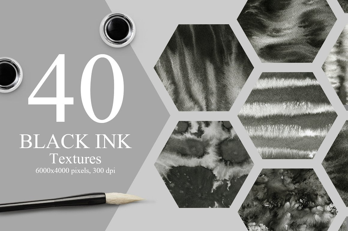 1100 Artistic Backgrounds Bundle - marble ink textures prev1