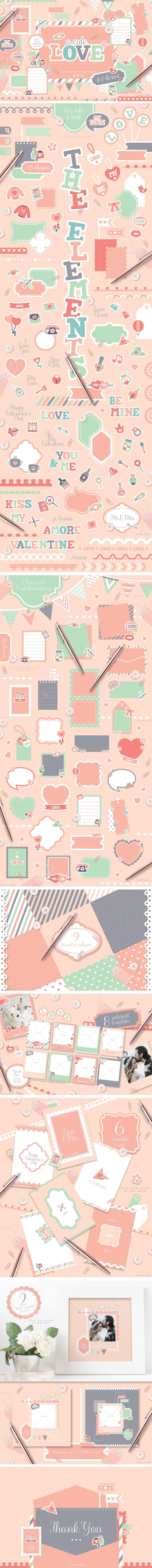 A Cute Love Romantic Decoration Kit - preview 04