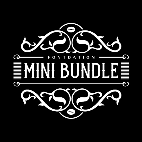 Fontdation Mini Bundle - $12 ONLY - bundle preview 1