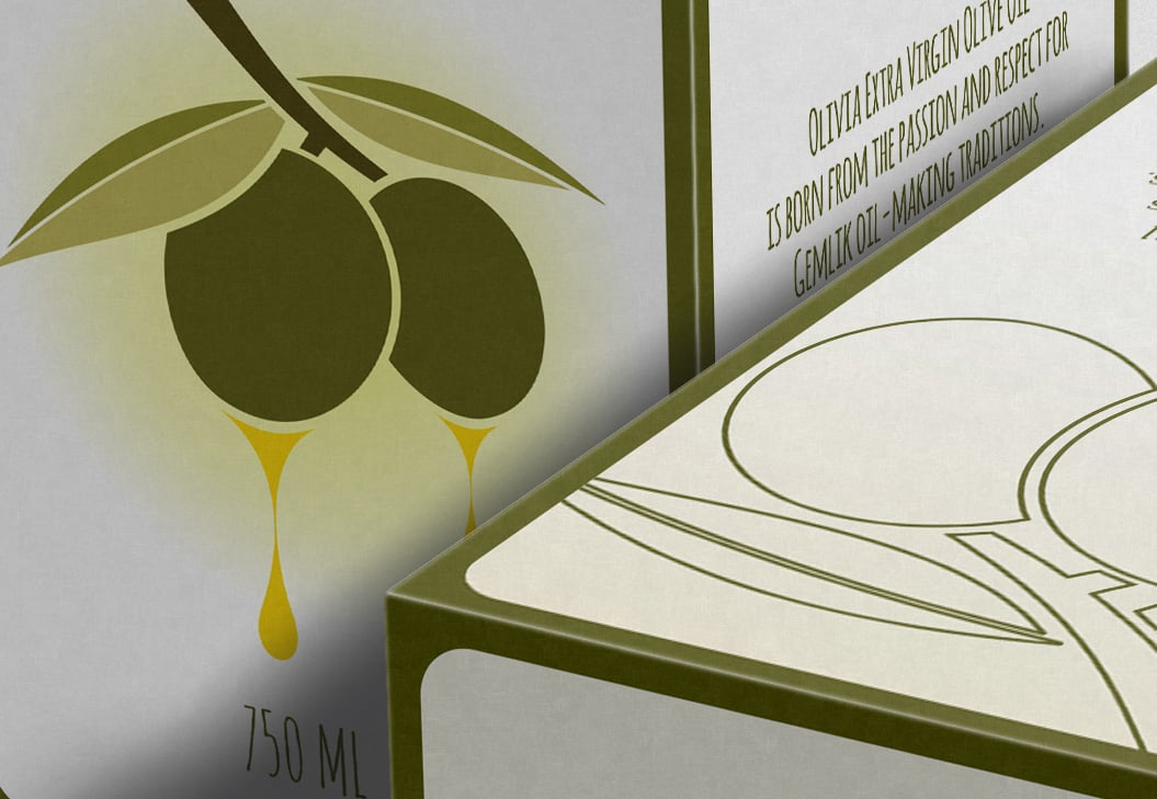 Olive Oil or Wine Box Mockup - close up1