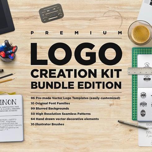 Logo Creation Kit Bundle - $19 - logokit bundle 1