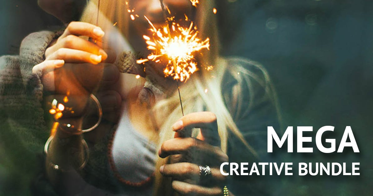 Mega Creative Bundle: brushes, actions, swatches and more