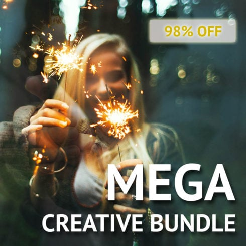 Mega Creative Bundle: brushes, actions, swatches and more - 490 490x490