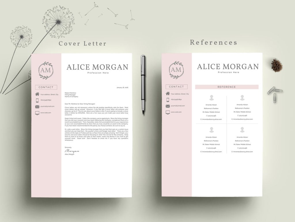 best professional resume template