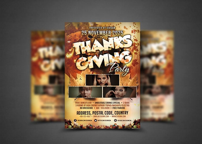 Thanksgiving family party