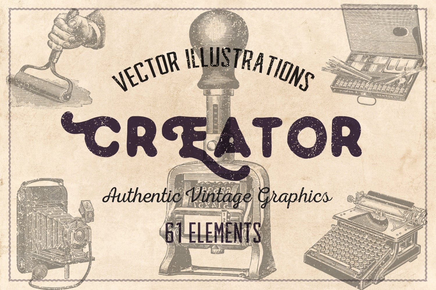 1000 Vintage Illustrations with 80% OFF - creator cover